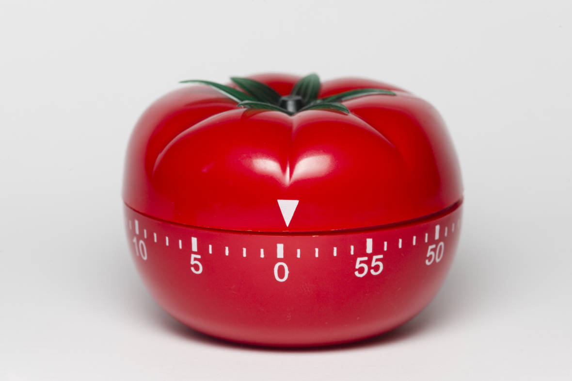 Procrastinating? Still? How a Tomato Timer Can Help You Stop Putting Things Off
