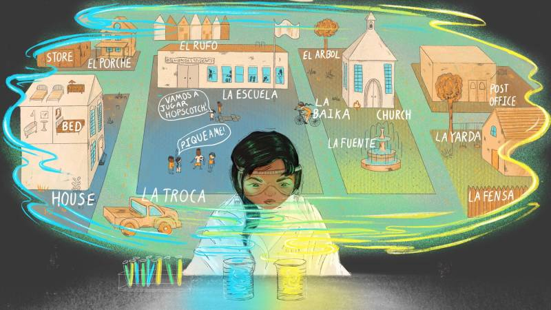 These Students Speak Perfect Spanglish — And Now They're Learning To Own It