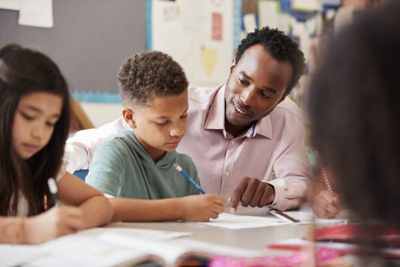 How Strengthening Relationships with Boys Can Help Them Learn