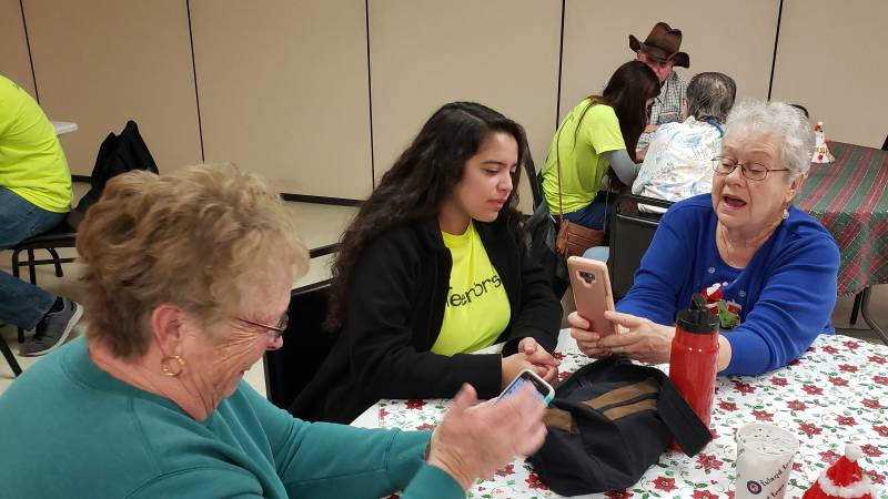 When Teens Share Tech Skills With Seniors, Both Can Feel More Connected