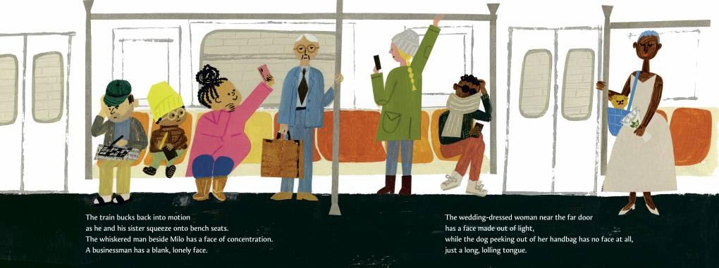 """Milo Imagines the World"" by author Matt de la Peña and illustrator Christian Robinson"