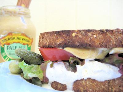 fake sandwich