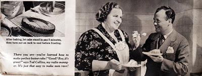 kate smith makes men rave with Grape-Nuts Bread