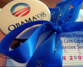 Burdick Obama chocolates