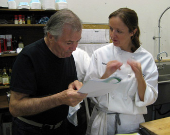 Jacques Pepin and Stephanie Lucianovic