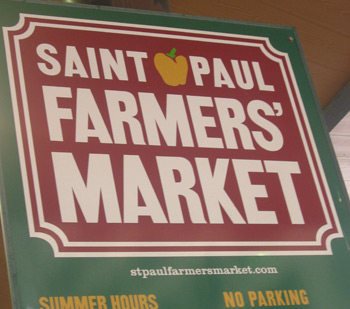 St. Paul Farmers Market sign