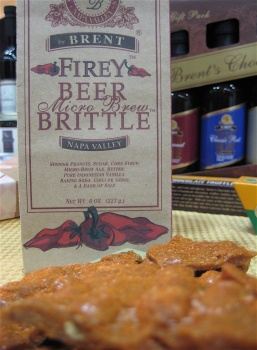 Firey Beer Brittle