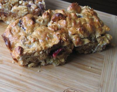 baked granola bar