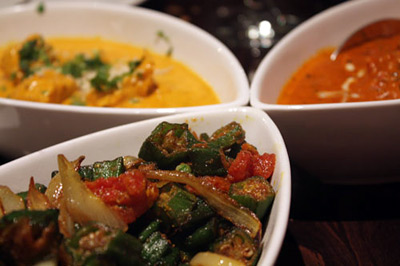 Trio of Dishes from Sultan