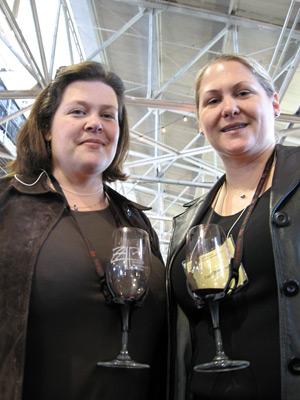 Beth Colagrassi and Anna Christensen