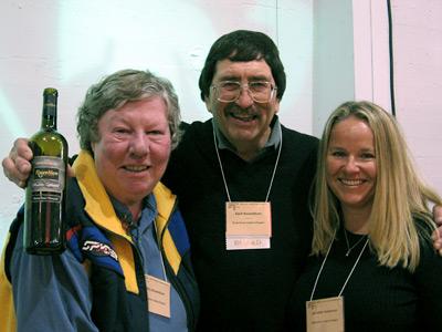 Kent Rosenblum, Kathy Rosenblum, and staffer Jennifer Anderson
