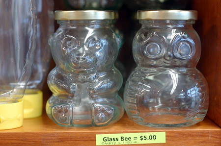 beekeeping honey jars