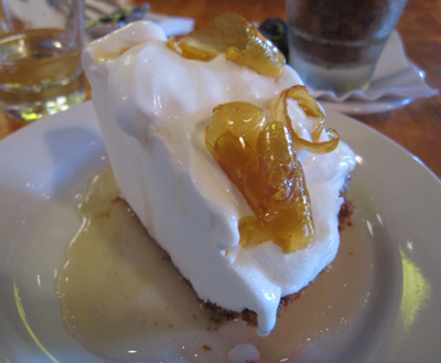 mozza meyer lemon gelato pie