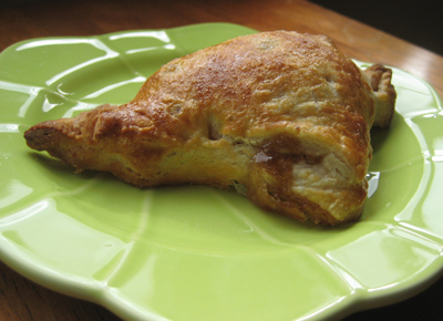turnover-on-a-plate