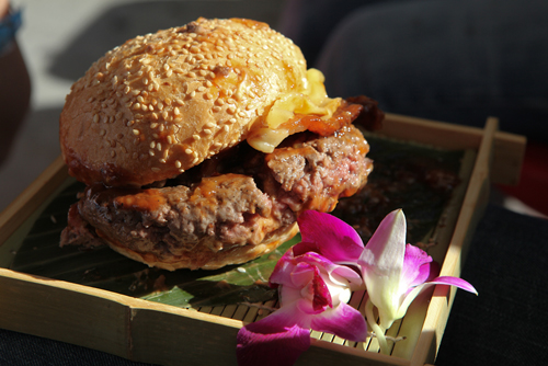 Pearls Hawaiian Burger