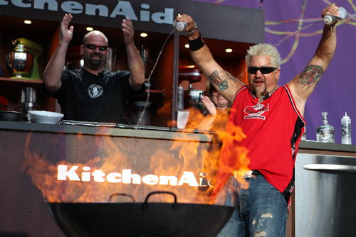 Rockstar Performance from Guy Fieri