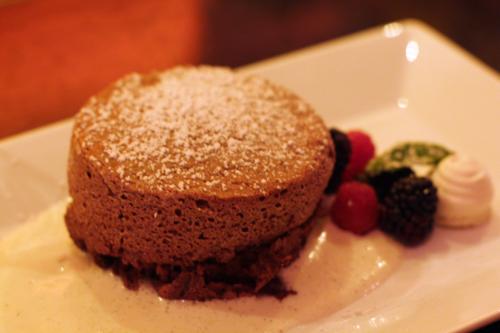 Vahlrona Chocolate Souffle, Oola