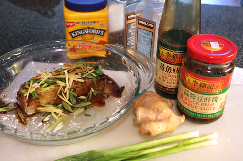 cantonese sea bass ingredients
