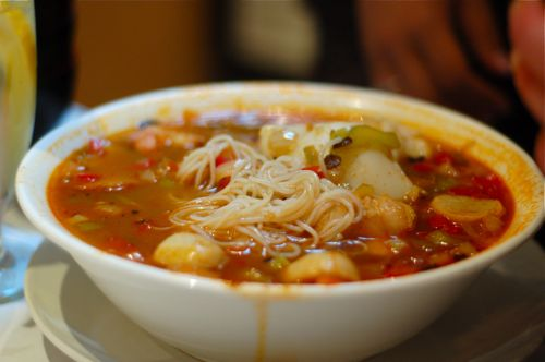 crawfish soup