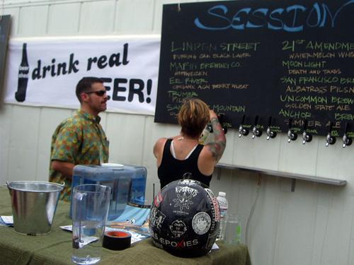 drink real beer