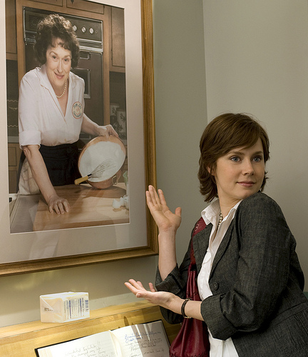 Amy Adams as Julie Powell in Julie and Julia