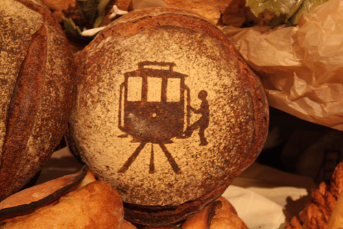 SF Chefs Bread Montage Trolley Car