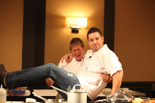 SF Chefs Jennifer Biesty and Ryan Scott