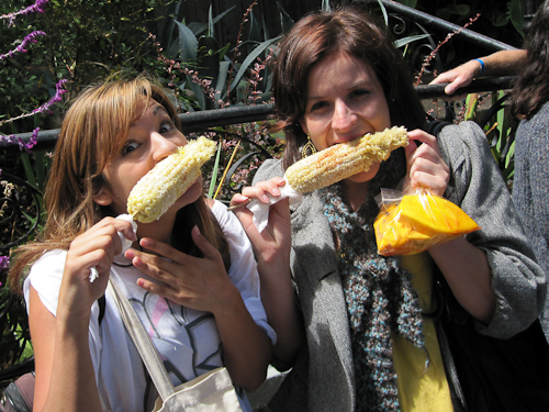Elotes (Grilled Corn) from Los Cilantros