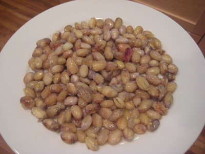 Snacking on Crispy Cranberry Beans