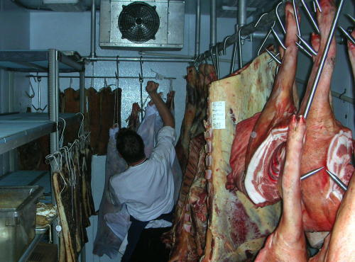 meat locker