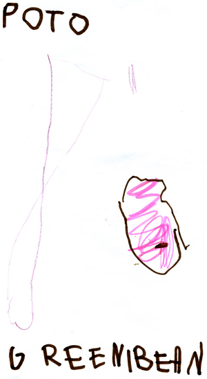 Potato by Reese age 4