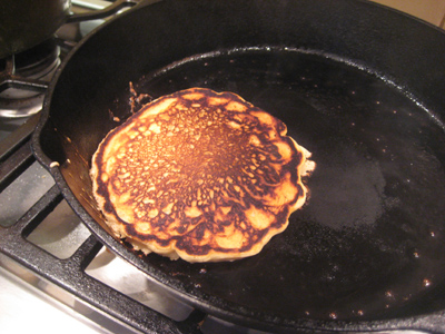 first pancake
