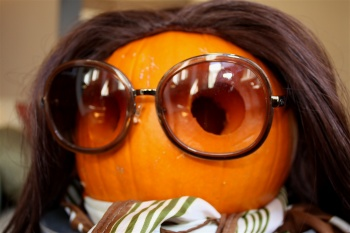 Just in Time for Halloween: The Jackie O. Lantern