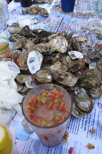 Shuck and Swallow Oyster Challenge