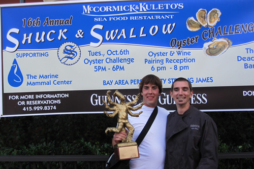 Shuck and Swallow Oyster Challenge Winners
