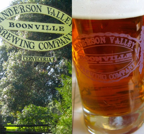 Entering-and drinking-at the Anderson Valley Brewing Company
