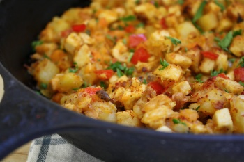 Turkey Hash: A Black Friday Breakfast