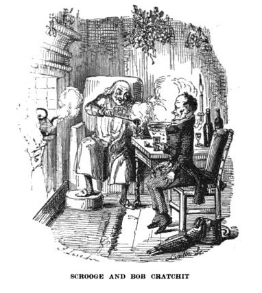 A Christmas Carol - How does Dickens portray Scrooge?