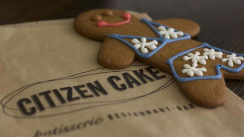 Gingerbread Jane from Citizen Cake