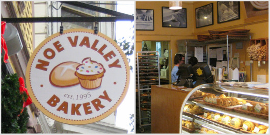 Welcoming storefront of Noe Valley Bakery