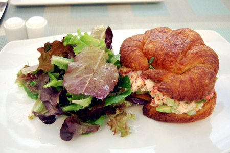 Shokolaat Lobster Sandwich- Photo courtesy Kitchen Gadget Girl