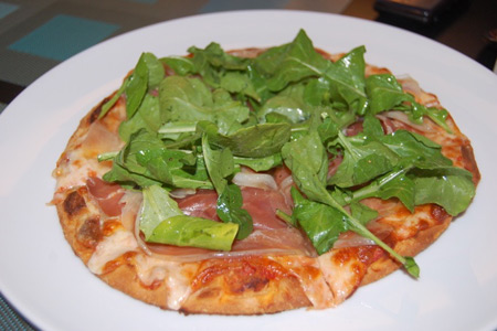 Shokolaat Pizzetta- Photo courtesy Kitchen Gadget Girl