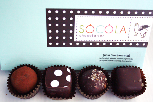 Socola Chocolatier, holiday collection