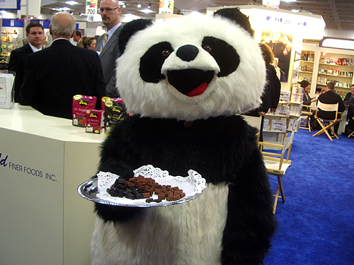 fancy food show panda licorice
