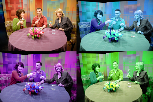BAB bloggers join Leslie Sbrocco on set of This Week in Northern CA
