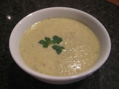 cream of corn chowder
