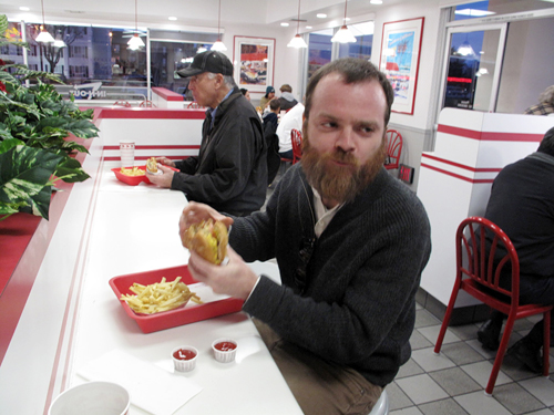East Coaster at In-N-Out Burger