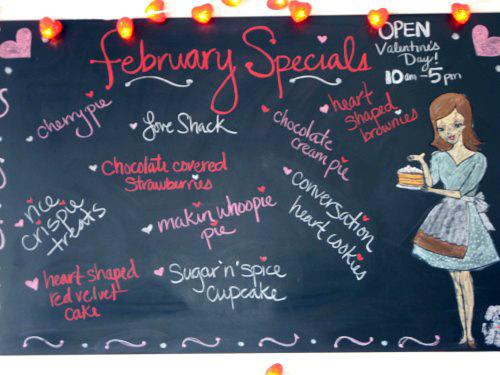 SusieCakes menu