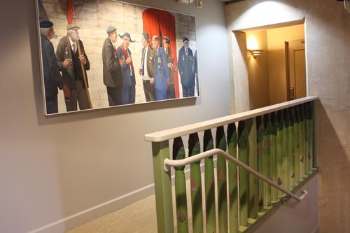 Ramekins Inn, asparagus railing