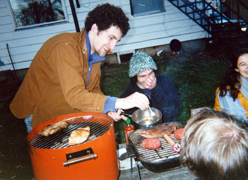 bbq in winter